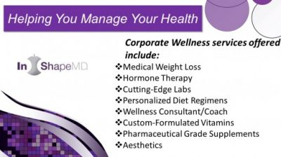 Our Corporate Wellness programs offers business owners in Louisville, KY many services like medical weight loss and supplements.